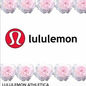 CHECK  MY CLOSET FOR  LULULEMON